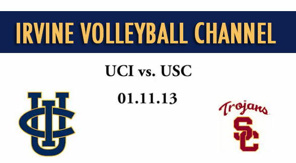 UCI vs. USC volleyball